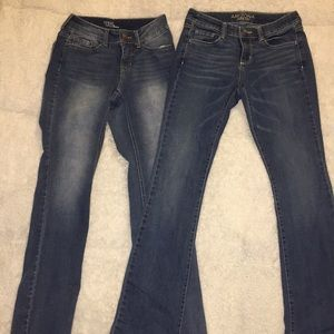 Brand new boot cut jeans